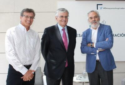 Eduardo Torres-Dulce, Juan Pujol, José Angel Sandin