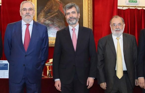Carlos Lesmes presenta la nueva Ley General Tributaria comentada por el TS