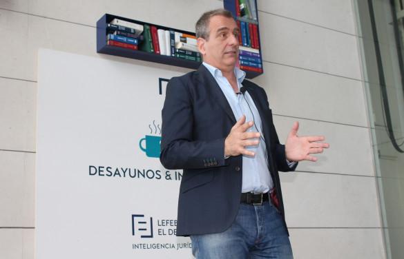 El coach profesional Terry Mclean visita Lefebvre·El Derecho