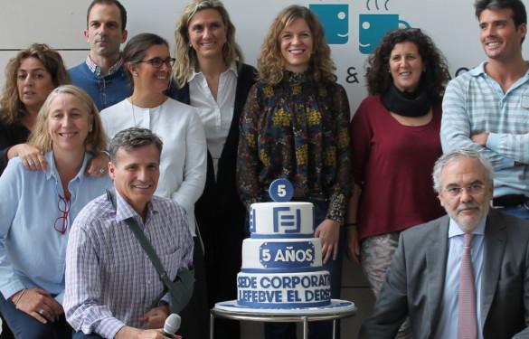Lefebvre·El Derecho celebra cinco años del traslado a la sede corporativa de Madrid