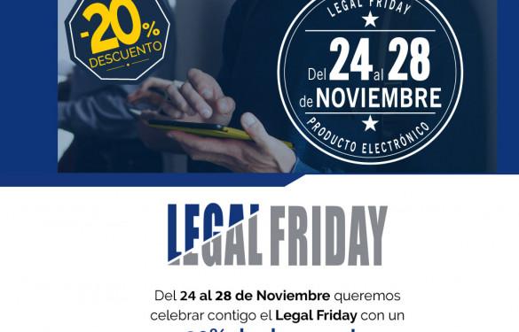'Legal Friday': 20% en productos de información jurídica en la tienda online