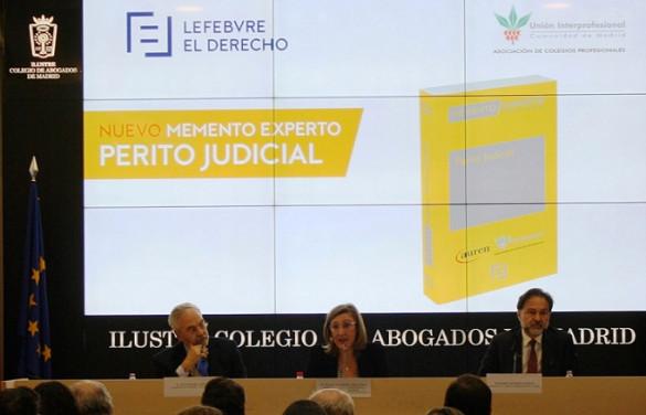 Lefebvre-El Derecho y la UICM presentan el Memento Experto Perito Judicial