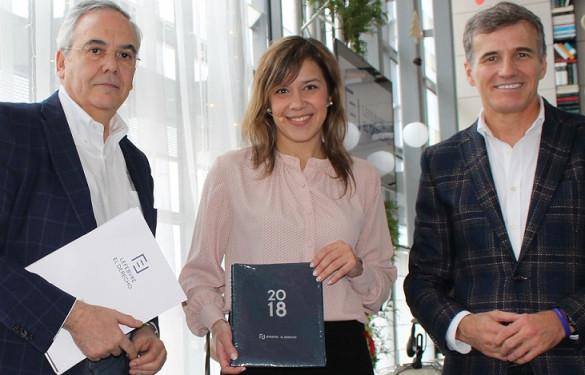 La campeona española Cristina Feo en los Desayunos Inspiración de Lefebvre · El Derecho