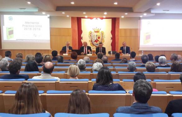 Presentación del Memento Vino en el Ilustre Colegio de Abogados de Málaga