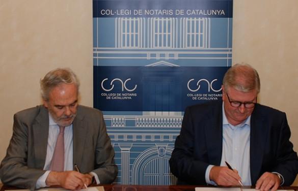 Lefebvre · El Derecho firma un importante acuerdo de colaboración con la revista La Notaría