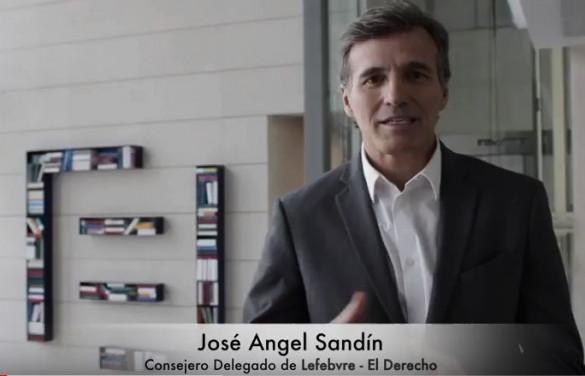 José Angel Sandín, CEO Lefebvre · El Derecho, explica las ventajas del Smart Working