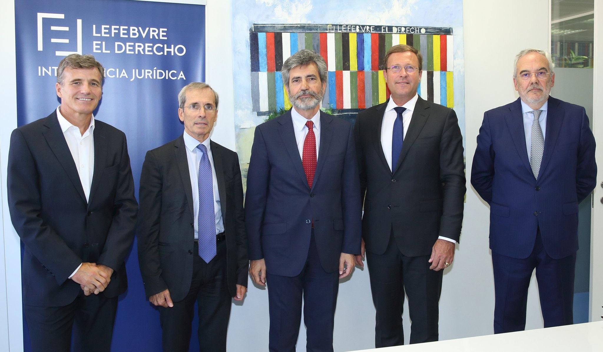 """Olivier Campenon, presidente de Lefebvre-Sarrut: """"El ADN de la compañía es la innovación"""""""