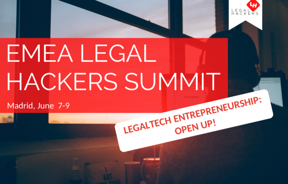 El evento EMEA Legal Hackers Summit llega a Madrid