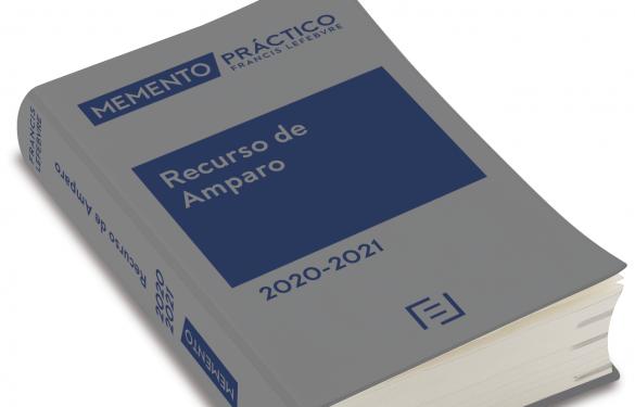 El presidente del Tribunal Constitucional presenta el libro Memento Recurso de Amparo