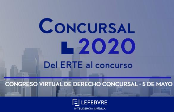 Organizamos el Congreso Virtual de Derecho Concursal: «Del ERTE al Concurso»