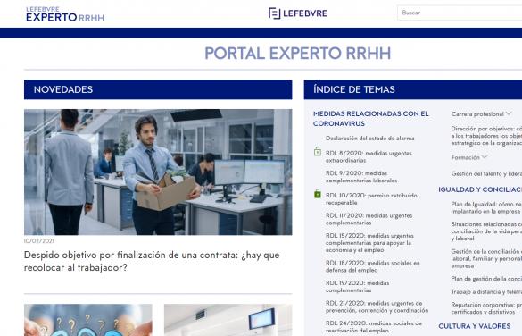 Presentamos nuestro nuevo portal Experto RRHH